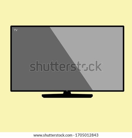 LCD tv azul película Screen los medios de comunicación Foto stock © gladiolus