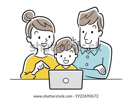 Cute Freunde posiert Tablet-Computer home Studenten Stock foto © wavebreak_media