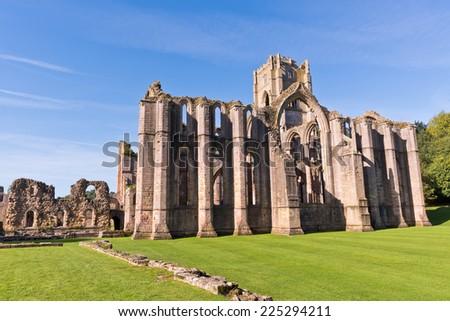 Abdij tempel noorden yorkshire Engeland landschap Stockfoto © chris2766