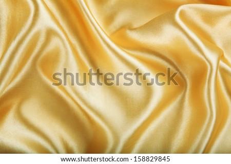 Dorado raso textiles fondo oro Foto stock © Nneirda