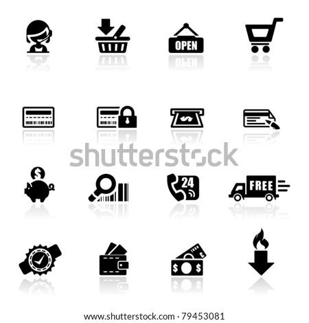 Koszyka hot produktu ikona podpisania sklep Zdjęcia stock © tkacchuk