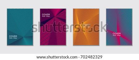 Azul medios tonos banner triángulo formas diseno Foto stock © SArts
