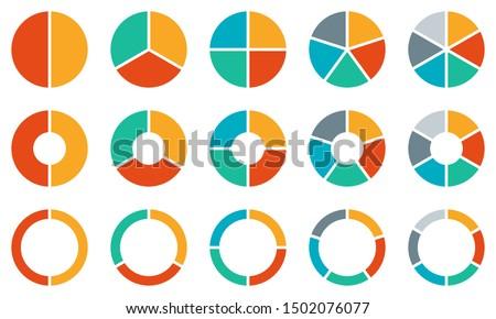 Torta diagrama 3D gerado quadro financiar Foto stock © flipfine