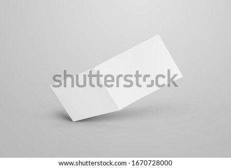 business folable brochure design template Stock photo © SArts