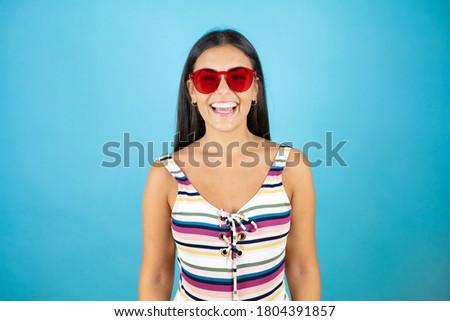 a woman wearing sunglasses Stock photo © photography33