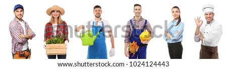 Handyman isolated on white background Stock photo © photography33