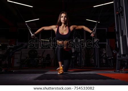 Fitness machine studio vrouw Stockfoto © wavebreak_media