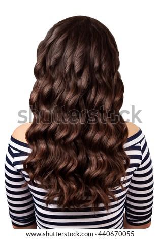 Luxueus glanzend haren rechtdoor abstract Stockfoto © tommyandone