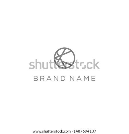 Levél logo logotípus szimbólum alkotóelem vonal Stock fotó © blaskorizov