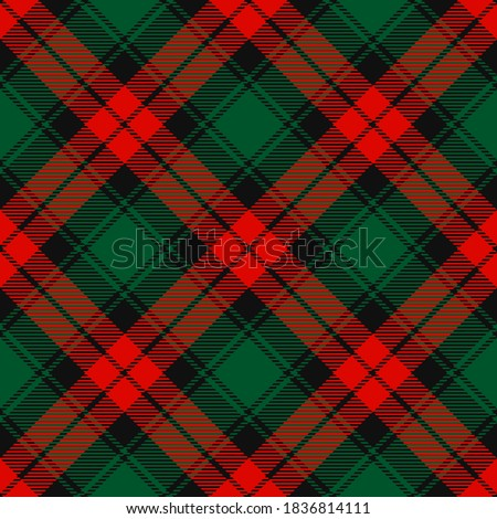 Christmas tartan, plaid pattern background Stock photo © Ecelop