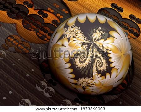 Abstrato fractal férias eps 10 usado Foto stock © IMaster