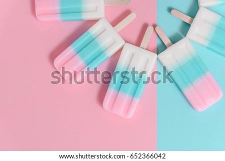 ice cream popsicle Stock photo © M-studio