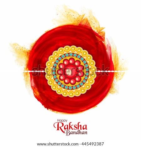 abstract yellow raksha bandhan festival banner design Stock photo © SArts
