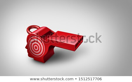 Whistleblower Target Stock photo © Lightsource