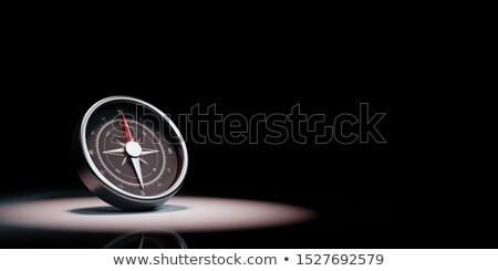 Rosso magnete nero copia spazio illustrazione 3d luce Foto d'archivio © make