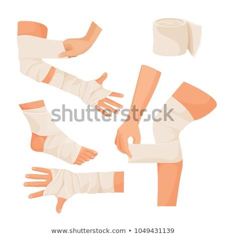 Elastic bandage Stock photo © kalozzolak