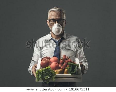 Szennyezés étel mérgező táplálkozás eszik fertőzött Stock fotó © Lightsource