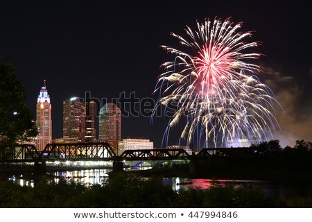 Red, white and boom - Happy Independence Day July 4th Stock photo © Zsuskaa