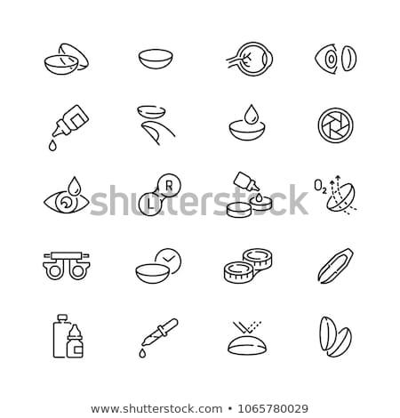 ícone vetor ilustração assinar Foto stock © pikepicture
