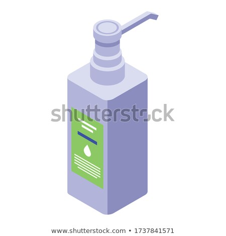 Cosmetic Healthcare Gel isometric icon vector illustration Stock photo © pikepicture