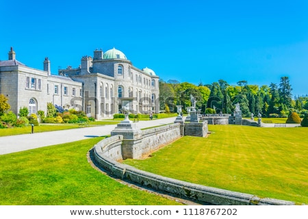 The lake at Powerscourt Mansion, Ireland Stock photo © Eireann