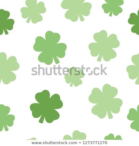 İrlandalı görüntü dört yonca soyut büyük Stok fotoğraf © damonshuck