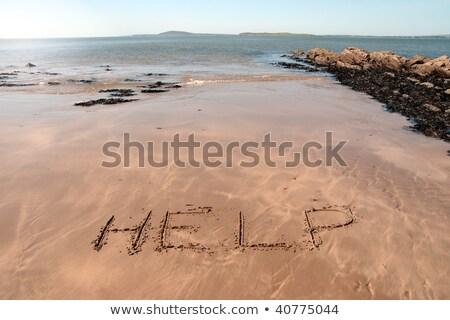 ballybunion hot sands Stock photo © morrbyte