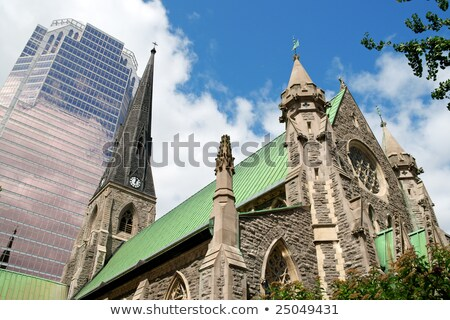 Christ Church Cathedral in Montreal Stock photo © aladin66
