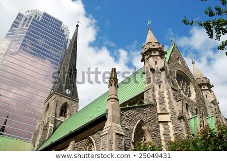 christ · kerk · kathedraal · Montreal · eerste · origineel - stockfoto © aladin66