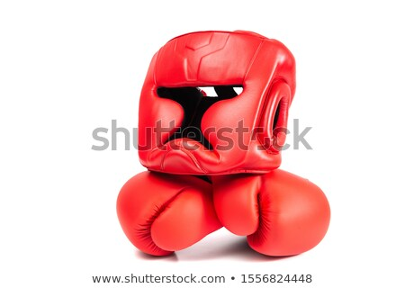 boxing gloves on floor of sport hall Stock photo © Paha_L