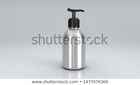 creme · branco · fundo · mulher · rosto · saúde - foto stock © nurrka