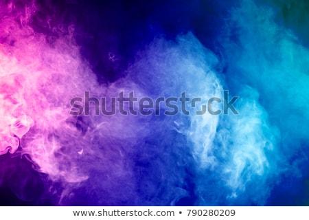 brillante · colorido · humo · resumen · formas · blanco - foto stock © photohome