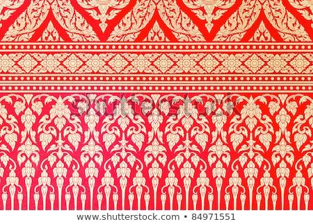 古い紙 パターン タイ アーキテクチャ 紙 木材 ストックフォト © Archipoch