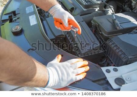 car mechanicians stock photo © photography33