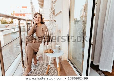 эспрессо · фото · женщины - Сток-фото © photography33