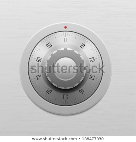 combinação · discar · dedos · corrigir - foto stock © garyfox45116