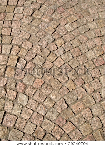 Close up of street cobblestones in Sheffield, UK. Stock photo © latent