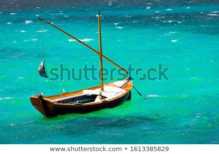Small wooden sailing ship stock photo © KonArt
