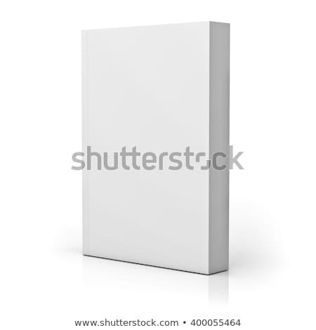 Ekönyv könyv fehér ül öreg nyitva Stock fotó © luapvision