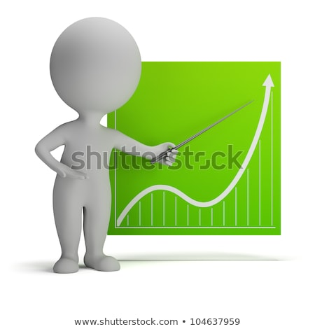 3d small people - chart stock photo © AnatolyM