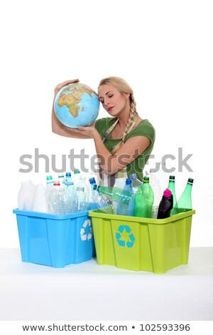 woman very preoccupied by ecology Stock photo © photography33