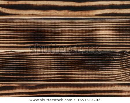 ストックフォト: 木製 · 平らでない · 壁 · ラフ · 抽象的な · 自然