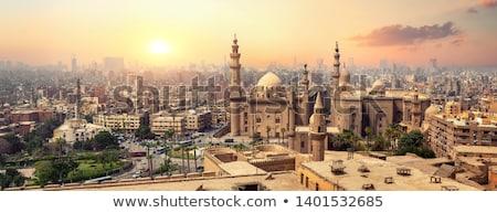 Minaret Egypte détail architectural Afrique bâtiment construction Photo stock © prill