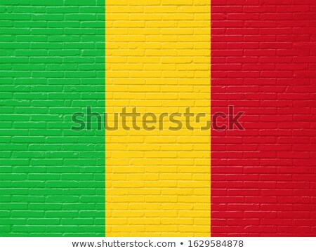 Flag of Mali on brick wall Stock photo © creisinger