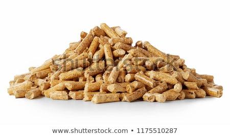 Foto stock: Wood Pellets