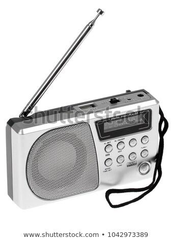 Radio receiver on a white background Stock photo © ozaiachin