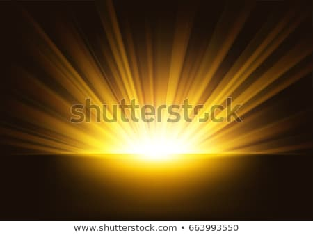 Rising Gold Sun Beam Stock photo © nuttakit