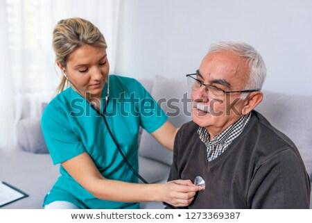doktor · kıdemli · kadın · kadın - stok fotoğraf © wavebreak_media