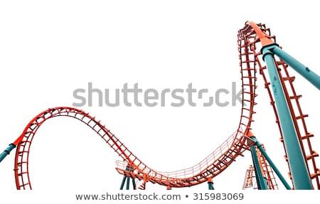 roller coaster isolated stock photo © danny_smythe