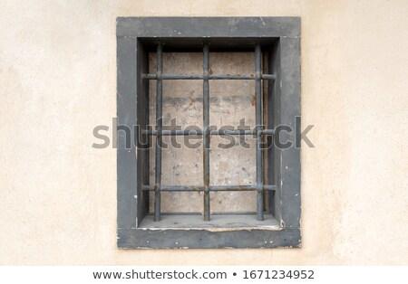 темница · баров · стены · здании · фон - Сток-фото © smuki